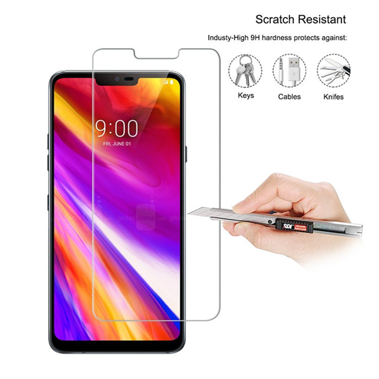 lg g7 tempered glass shield screen protectors