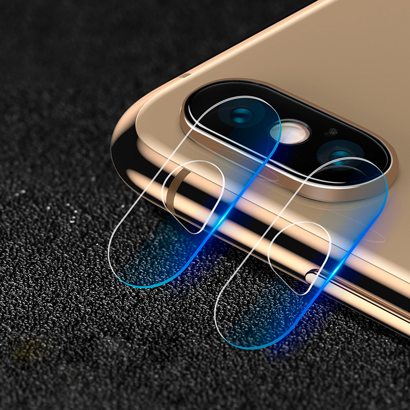 iphone x,xs,xs max camera lens tempered glass screen protectors