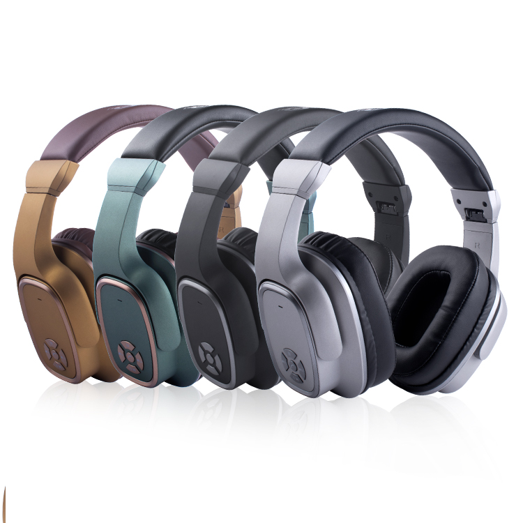 Wireless headphones with mic for cellphone/pc