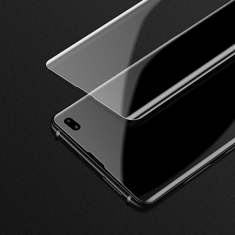 s10 plus case friendly screen protector