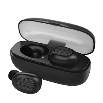 ベストBluetooth 5.0 True Wireless Earbuds Easy-PairスポーツSweatproof Mini Bluetoothヘッドフォン
