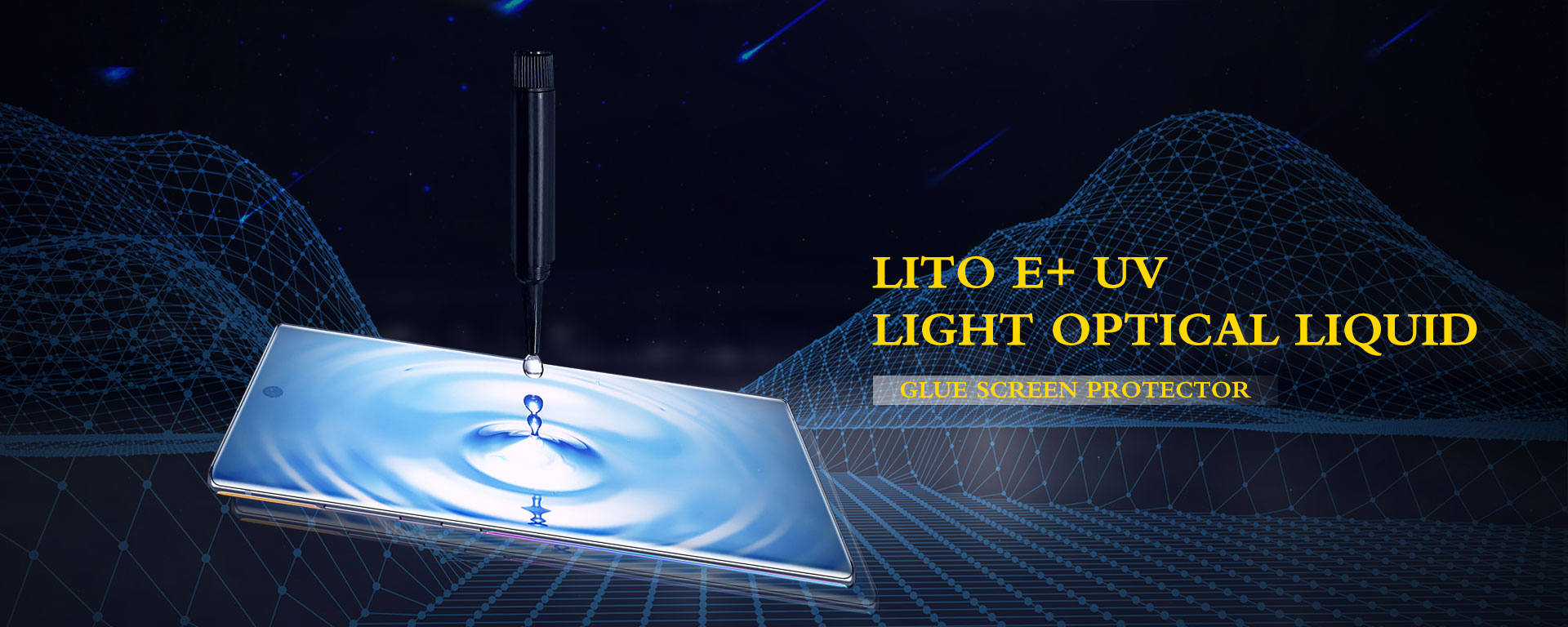 LITO E+ UV Light Optical Liquid Glue Screen Protector